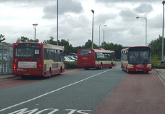DSCF7804 Halton Borough Transport buses in Widnes - 16 Jun 2017