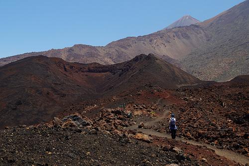 Vulkan Montaña Reventada