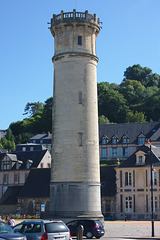 Old lighthouse in Honfleur