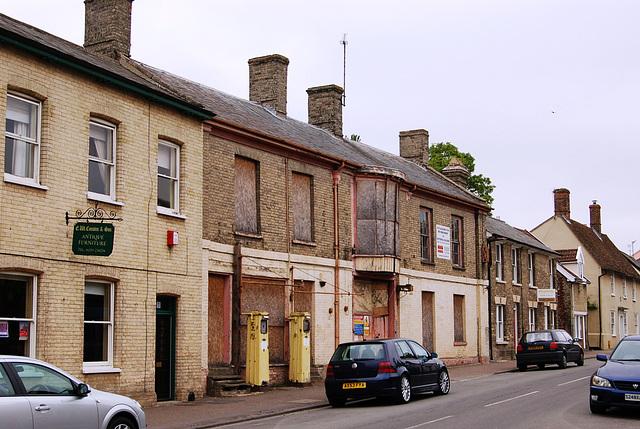 Former Petrol Station, Ixworth, Suffolk 2007