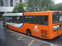 DSCF9521 Travel de Courcey 560 (AE07 DZP) in Coventry - 19 Aug 2017