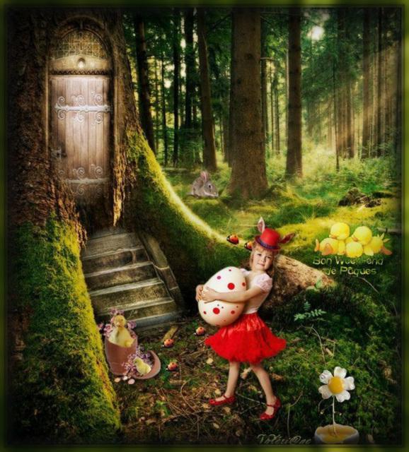 Belles fêtes de Pâques à tous...
