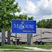 MO missouri welcome sign joplin 05'09