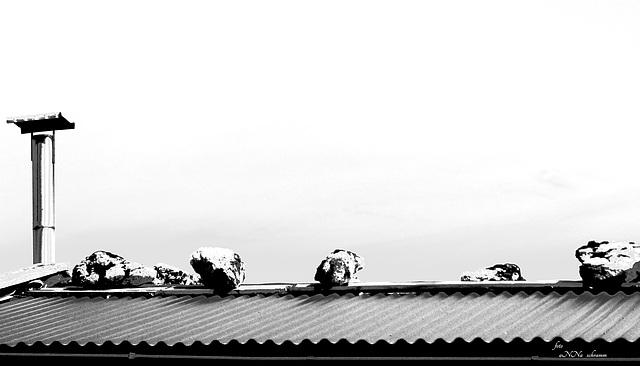 Alm-Hütten-Dach