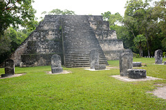 Guatemala, Tikal, Complex Q of Archaeological site