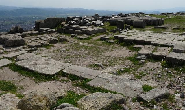 Pergamon- Holy Square of Athena