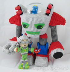 Monster Tale Robot Doll