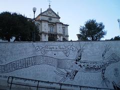 The lizard of Penha de França - Lisbon.