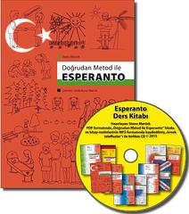 Turka lernolibro de Esperanto + KD