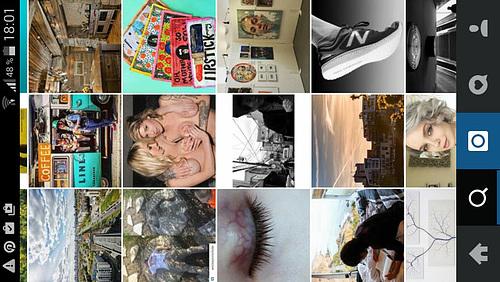 Instagram Suche Screenshot