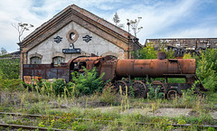 Istvántelki főműhely -  301.006 MÁV locomotive