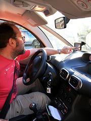 FR - Villefranche-de-Conflent - me, before driving back to Argelès