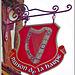 Enseigne de la maison de la Harpe à Dinan