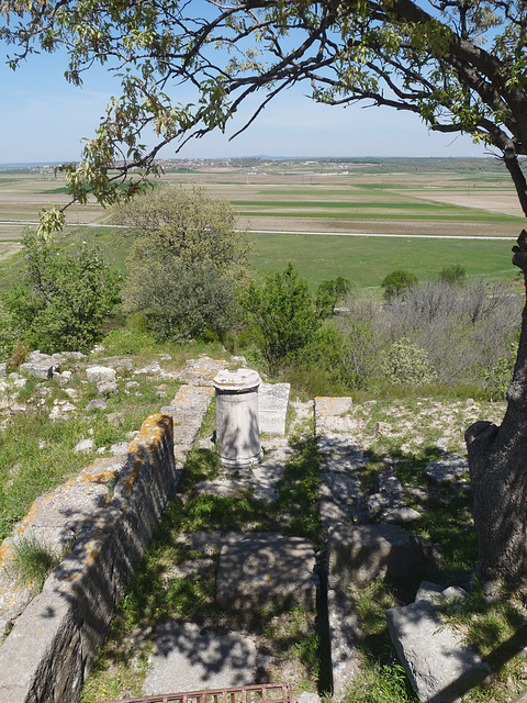 Troy- View Towards the Dardanelles From the Northeast Bastion