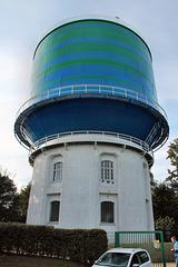 Westlicher Wasserturm aus dem Jahr 1908 (Herten) / 11.09.2016