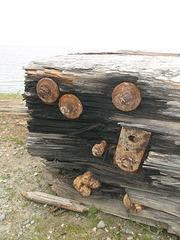 Pebbled rust