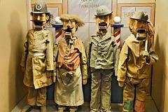"""The Barber Shop """"Quart"""" – Musée Méchanique, Pier 45, Fisherman's Warf, San Francisco, California"""