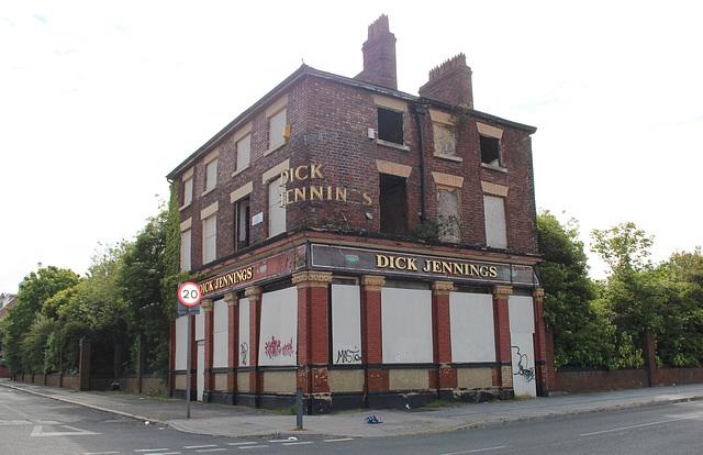 Former Dick Jennings Pub, Hill Street, Toxteth, Liverpool