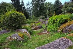 Steingarten im Kurpark  Schierke
