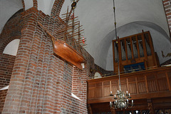 Denmark, Interior of the Church of Our Lady in Kalundborg