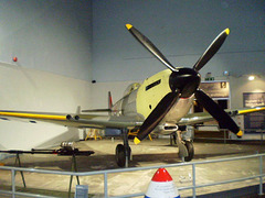 Spitfire airplane (World War II).