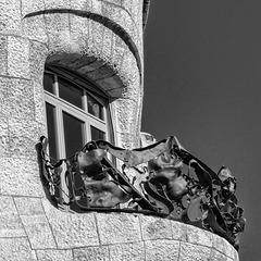 Casa Mila Balcony Fence