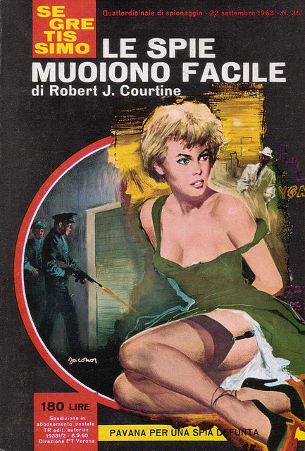 Robert J. Courtine - Le Spie Muoiono Facile