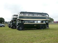 Preserved Todmorden JOC buses at Showbus - 29 Sep 2019 (P1040728)