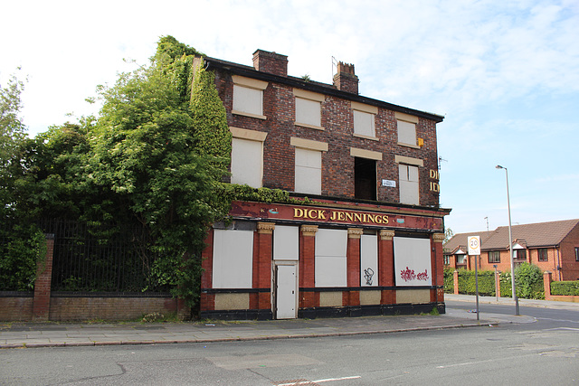 Former Dick Jennings Pub, Hill Street, Toxteth, Liverpool