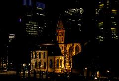 Frankfurt - A Nightshot of St. Leonhard