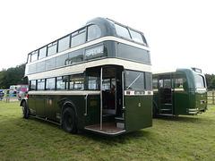 Preserved Todmorden JOC buses at Showbus - 29 Sep 2019 (P1040725)