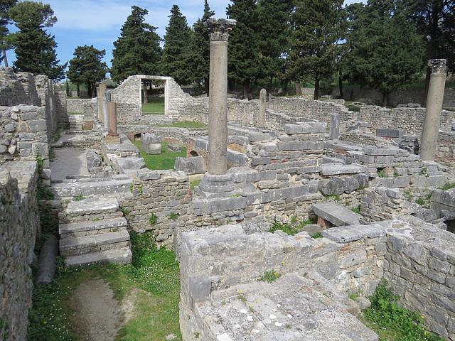 Manastirine : le complexe vu du sud-est.