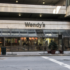 """Ohhhhh the Wendy's is ELEGANT because it doesn't have garish signage,"" I bellowed loudly like a street preacher in mockery of this."