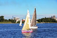 Wismar, Segeln in der Wismarer Bucht