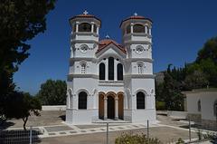 The Island of Tilos, Church in Livadia