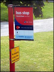 Bulford bus stop