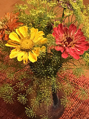 bouquet with dill