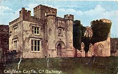 Clifden Castle,  Galway, Eire