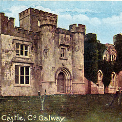 Clifden Castle,  Galway, Eire