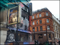 passing the Queen's Theatre