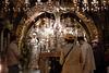 la Crocefissione di Gesù « Quando giunsero al luogo detto Cranio, là crocifissero lui e i due malfattori, uno a destra e l'altro a sinistra. »   (Luca 23,33)