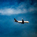 Lufthansa landing at Heathrow