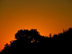 ce soir ciel de feu au coucher du soleil