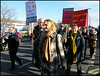 Labour protest against NHS cuts