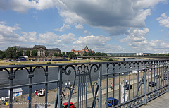 HFF and a great WE to all!  (view of the river Elbe at Dresden)