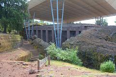 Ethiopia, Lalibela,The Passage to  Bete Medhane Alem Church