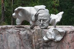 im Sibelius-Park in Helsinki (© Buelipix)