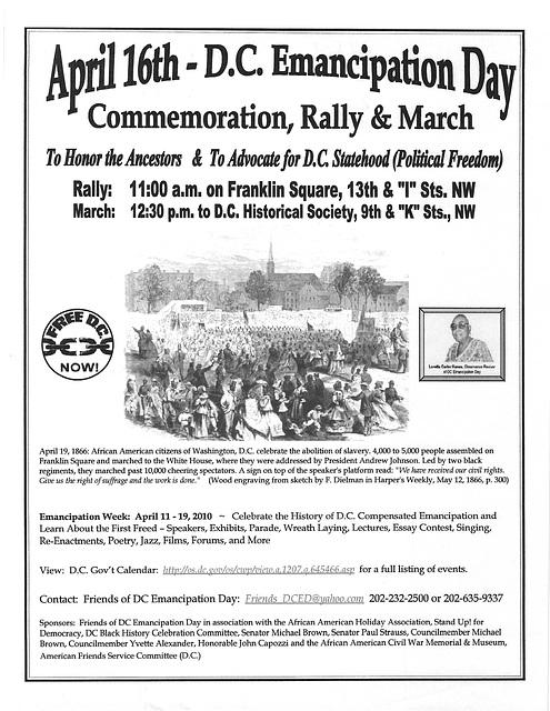 16April2010.DC.EmancipationDay.Flyer