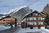 Vorarlberg, Au Town and Kanisfluh Massif (2044m)