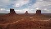 Monument Valley, West Mitten Butte, East Mitten Butte, and Merrick Butte